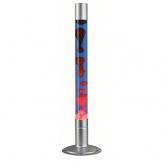 Lavaleuchte HIGHTOWER Blau - Rot aus Glas inkl. Leuchtmittel - 1